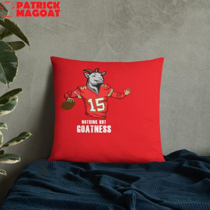 Nothing but goatness pillow