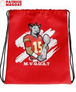M-V-G.O.A.T ( Mahomes MVP ) Drawstring bag