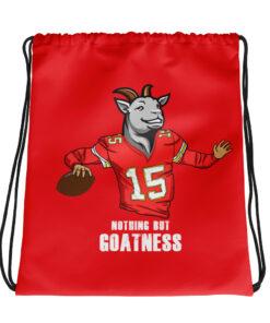 Nothing But Goatness Drawstring bag