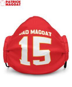 Dad Magoat ( Patrick Mahomes ) Premium face mask