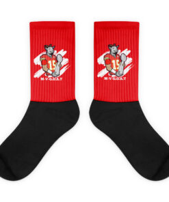 M-V-G.O.A.T ( Mahomes MVP ) Socks