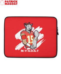 M-V-G.O.A.T. ( Mahomes MVP ) Laptop Sleeve