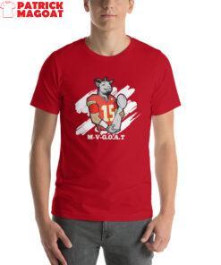 M-V-G.O.A.T. ( Mahomes MVP ) Short-Sleeve Unisex T-Shirt