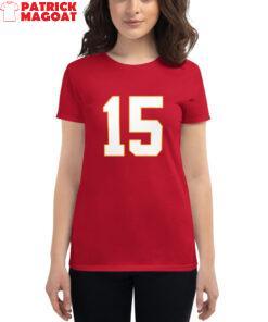 Miss Magoat ( Patrick Mahomes ) Women's Short Sleeve T-Shirt