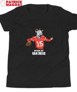 Nothing But Goatness Youth Short Sleeve T-Shirt