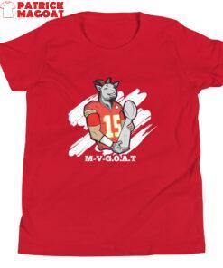 M-V-G.O.A.T. ( Mahomes MVP ) Youth Short Sleeve T-Shirt