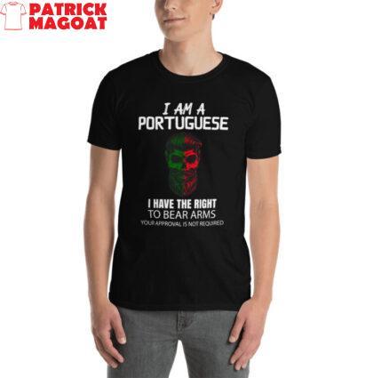 i am Portuguese t shirt