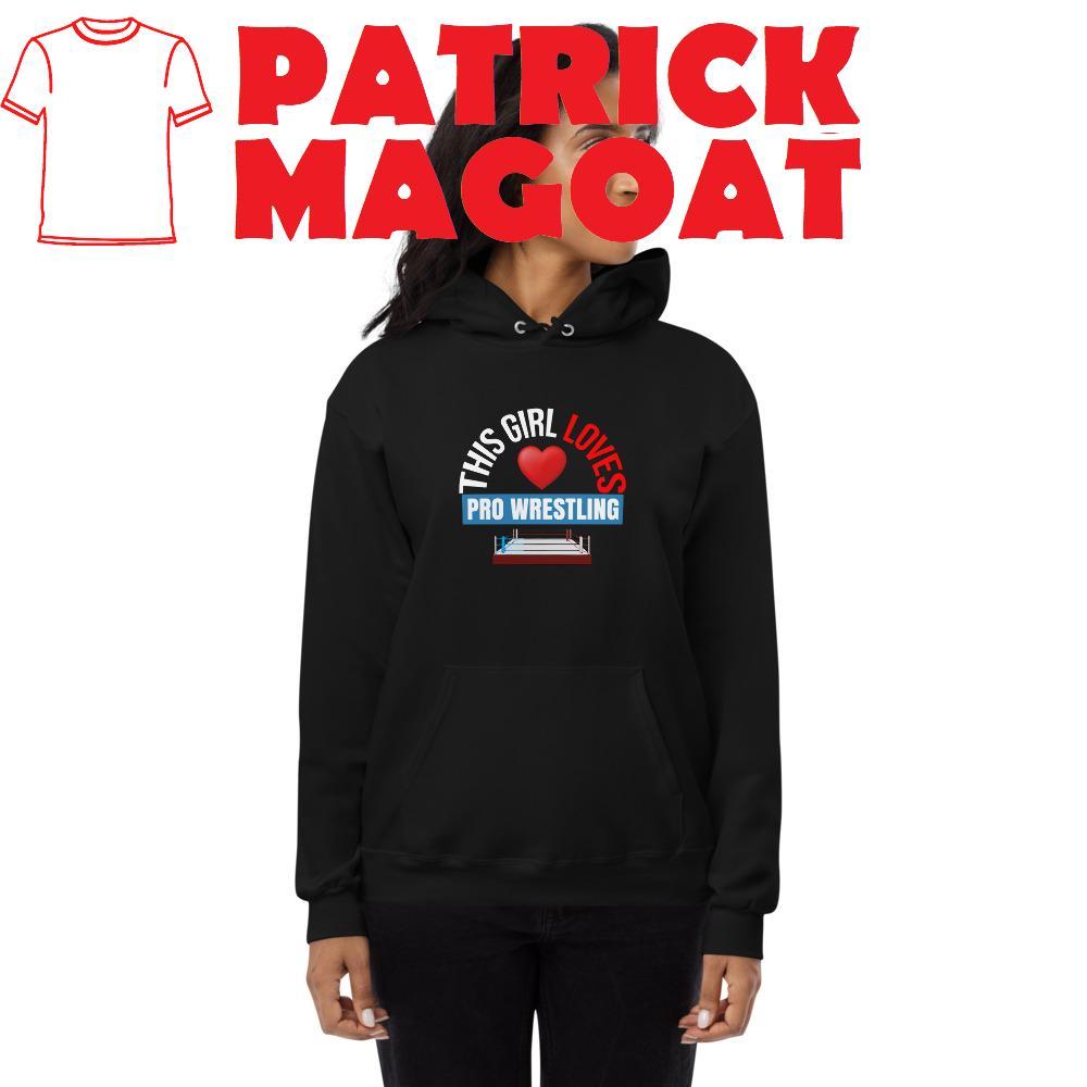 pro wrestling hoodie